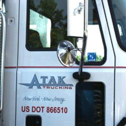 Atak's White Mack Truck Door